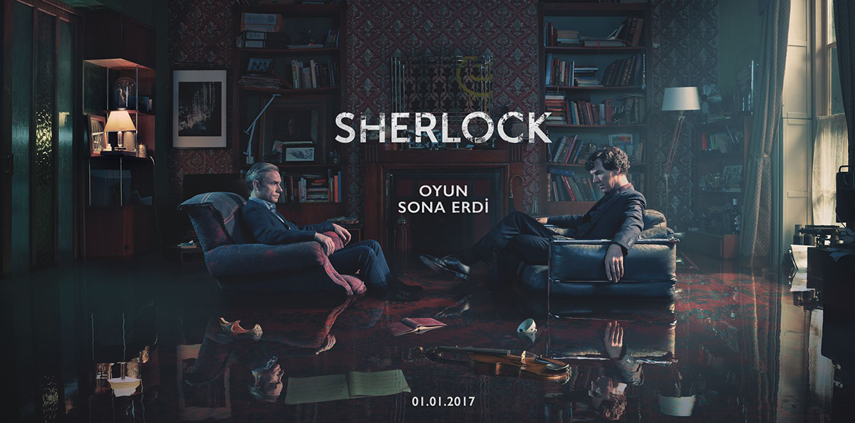 Sherlock'un Yeni Sezonu İngiltere Yayınıyla Aynı Anda TLC Ekranlarında