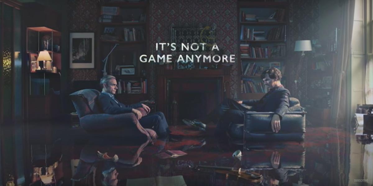 Sherlock'un 4.Sezonundan Gerilimli Fragman