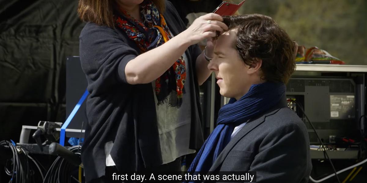 Sherlock'un 4.Sezon Çekimlerinin İlk Haftasından Görüntüler Yayınlandı