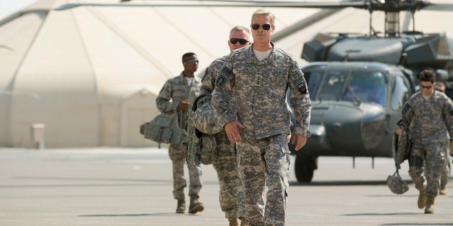 Brad Pitt'li Netflix Orijinal Filmi War Machine'den Yeni Fragman