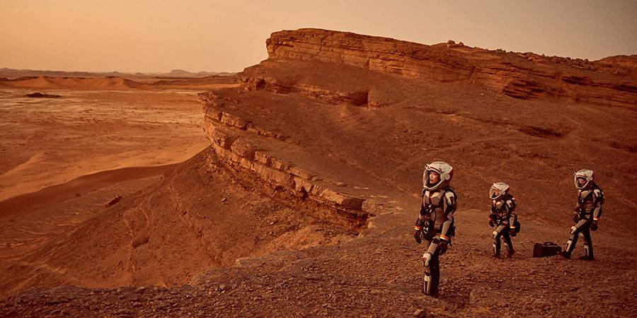 """NatGeo """"Mars"""" Belgeselinin Yazarı Stephen Petranek ve Oyuncu Clementine Poidatz Episode'un Konuğu"""