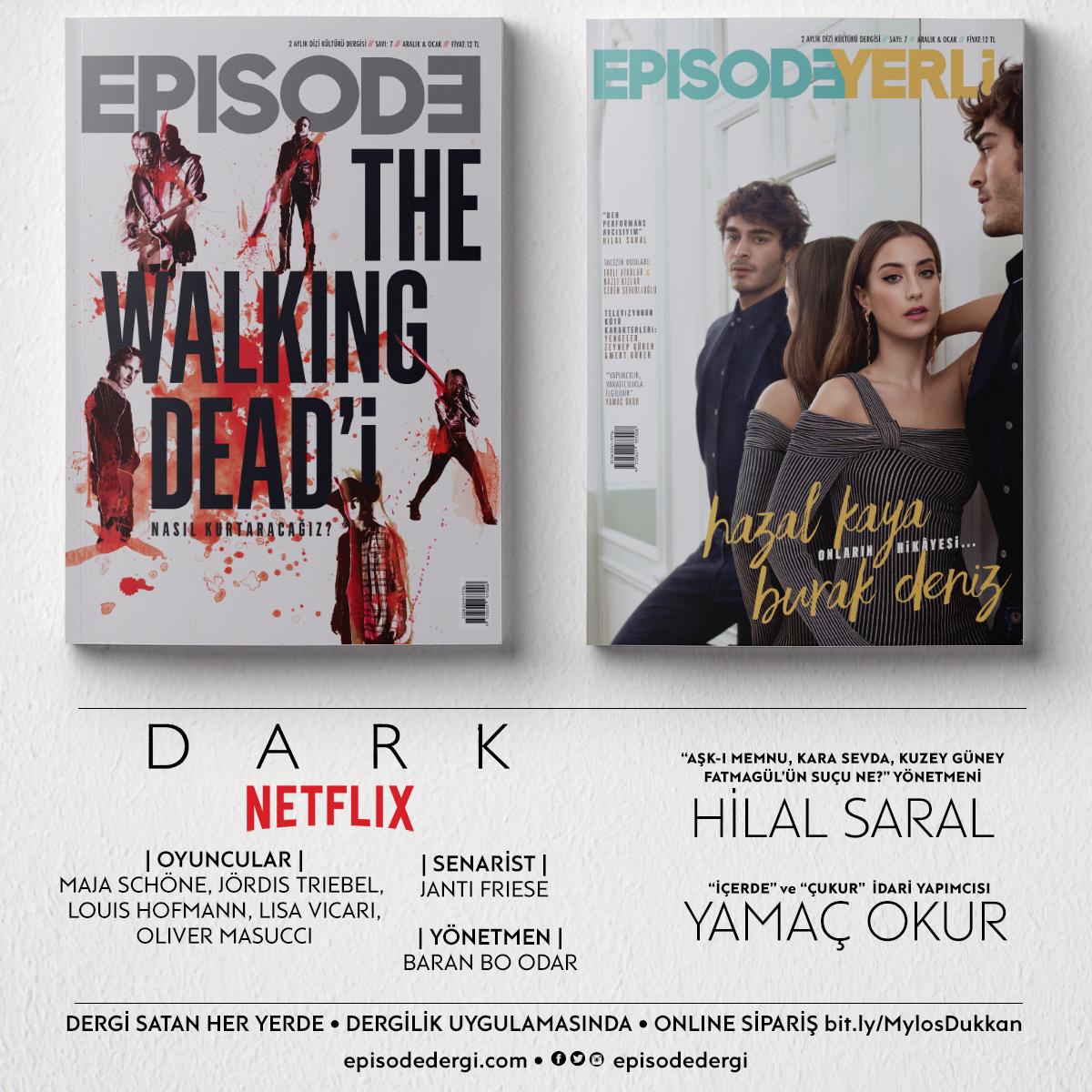 Dizi Tutkunlarının Dergisi Episode, İlk Yılını Hazal Kaya, Burak Deniz ve The Walking Dead ile Kutluyor