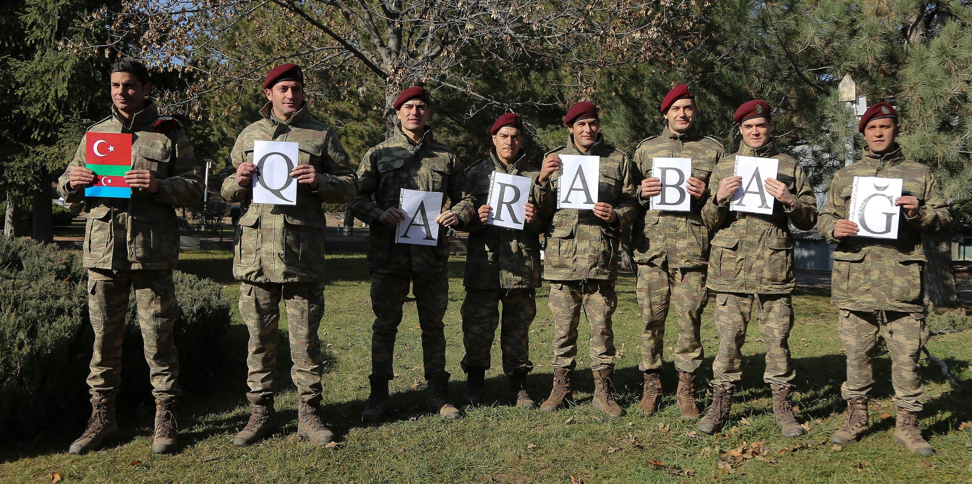 Savaşçı Dizisinden Karabağ'a Destek