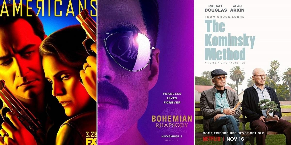 """76. Altın Küre Ödülleri: """"Bohemian Rhapsody"""", """"Roma"""" ve """"The Kominsky Method""""un Zaferi"""