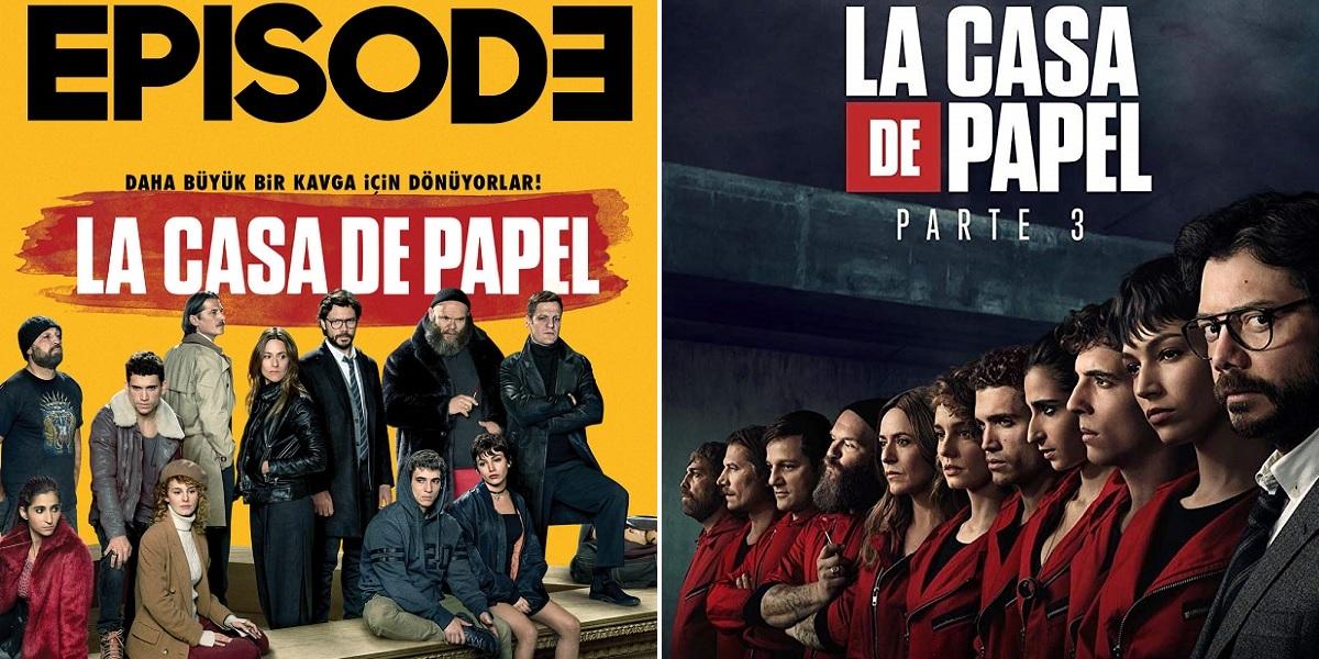 """""""La casa de papel"""" 3. Sezon: Büyük Kavga İçin Döndüler"""