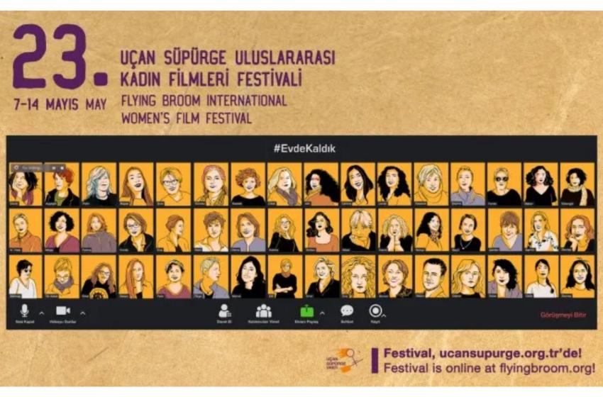 Online Olarak Düzenlenen Uçan Süpürge Uluslararası Kadın Filmleri Festivali Başlıyor
