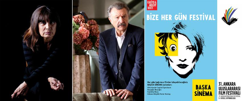 Ankara Ödülleri Şerif Sezer, Tamer Levent ve Başka Sinema'ya