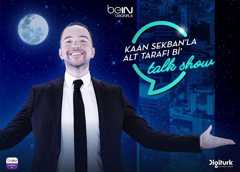 Kaan Sekban'la Alt Tarafı Bi' Talk Show, beIN CONNECT'te Başlıyor