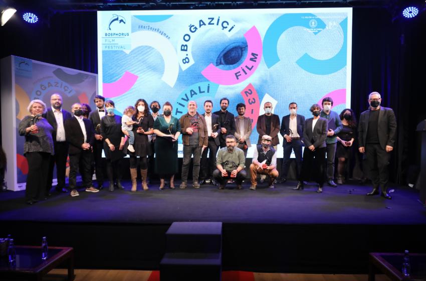 8. Boğaziçi Film Festivali: 'Altın Yunus'lar Sahiplerini Buldu