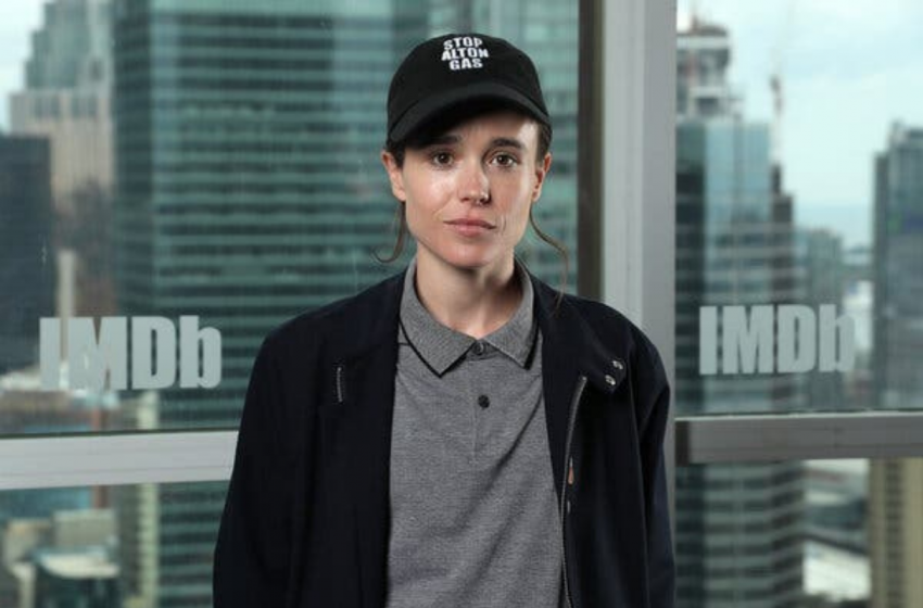 Elliot Page, 'Umbrella Academy'de Rol Almaya Devam Edecek