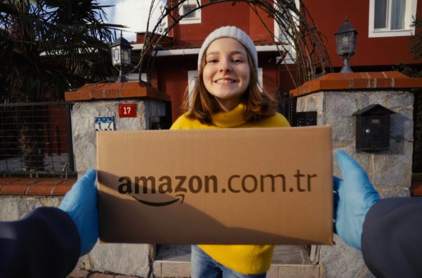 Amazon Türkiye'nin İlk Reklam Kampanyası Yayına Giriyor
