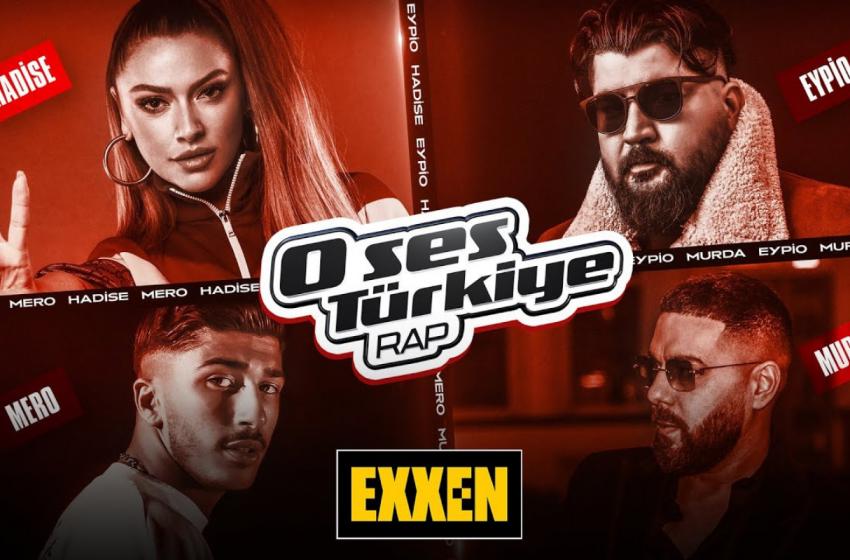 O Ses Türkiye Rap, İlk Bölümüyle Cuma Günü Exxen'de