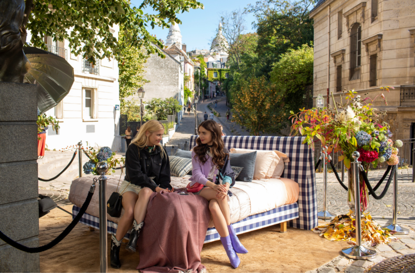 'Emily in Paris': Sen neymişsin be Emily!