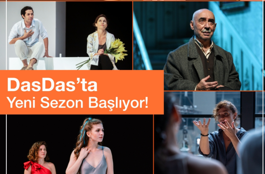 DasDas, Ekim Ayında Yepyeni Oyunlarla Sahnesine Geri Dönüyor