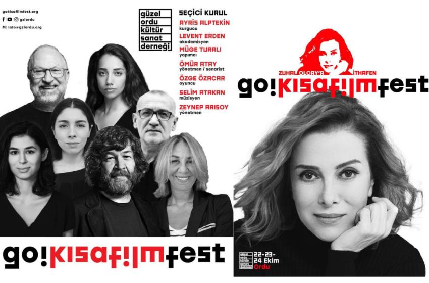 Güzel Ordu Kısa Film Festivali Başlıyor