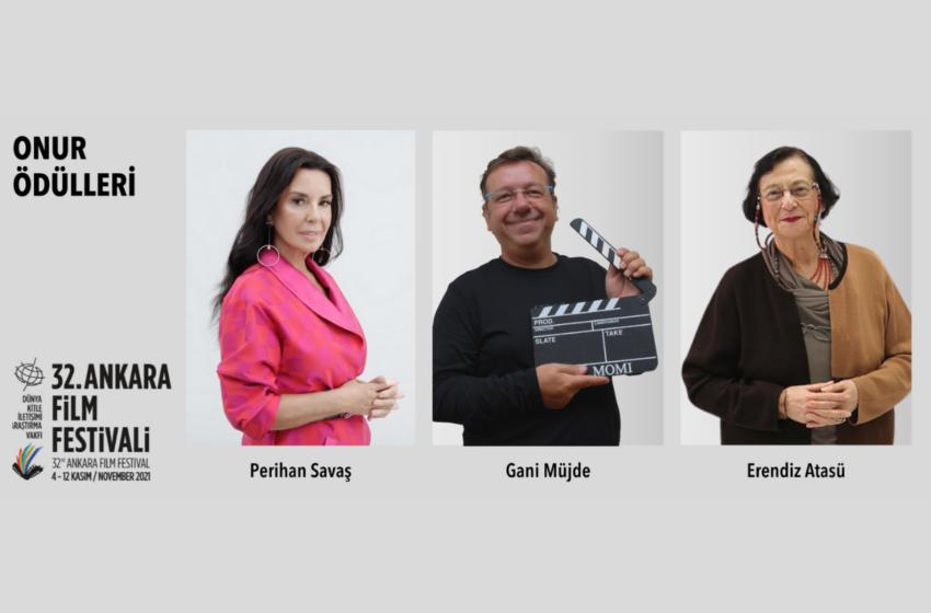 Ankara Film Festivali Onur Ödülleri Açıklandı!